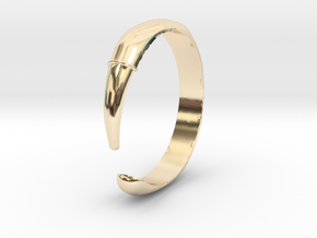 Single Claw Ring - Sz. 10 in 14K Yellow Gold