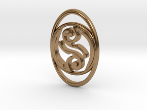 TribeAeon Adaptable Pendant or Bracelet in Natural Brass