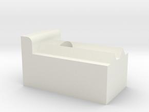 EjeX Carro B in White Natural Versatile Plastic