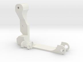 Eje X Acople Cadeneta Izquierda in White Strong & Flexible