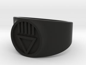 Black Death GL Ver 2 Ring Sz 13 in Black Strong & Flexible