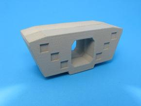 HO/1:87 Precast concrete bridge segment fill (wide in White Strong & Flexible