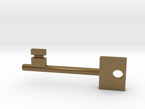 Skeleton Key in Natural Bronze