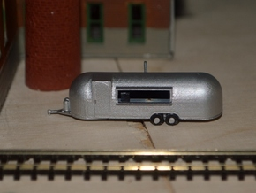 N-Scale Roach Coach (Revised) in Smooth Fine Detail Plastic