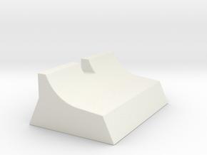 Rear Sight MKII in White Natural Versatile Plastic