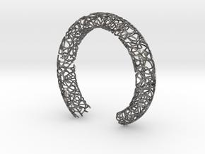 Bracelet (piece number 1) in Polished Nickel Steel