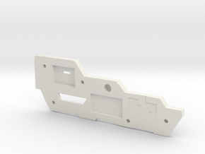 Carnifex Hand Cannon - Top Section in White Natural Versatile Plastic