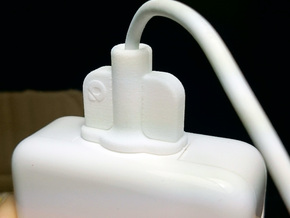 MagSavior™ - POW Clip (For 60/85W MagSafe 2 only)  in White Natural Versatile Plastic