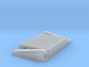 """1/25 Intercooler 16"""" Flow Length By 12"""" Wide in Frosted Ultra Detail"""