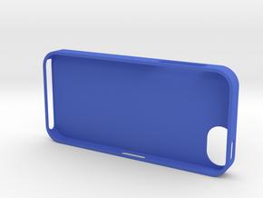 iPhone 5 in Blue Processed Versatile Plastic