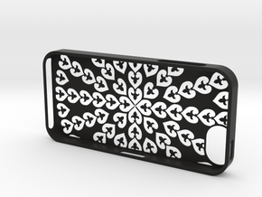 iPhone 5_3d (D3) in Black Natural Versatile Plastic
