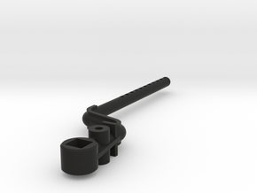 Tamiya M-Chassis C6 Rear Mount in Black Natural Versatile Plastic