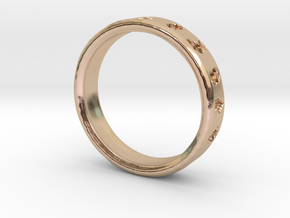 Pokemon Ring in 14k Rose Gold: 6 / 51.5