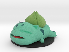Too Cute: Bulbasaur in Full Color Sandstone