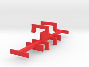 WarwellSixBolsterFittingGauges-SmallerFootprint in Red Processed Versatile Plastic