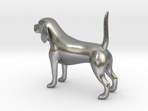 Beagle in Natural Silver