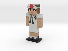 Nurse Steve in Full Color Sandstone