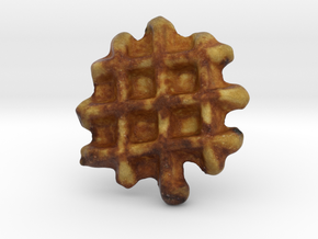 The Waffle in Full Color Sandstone