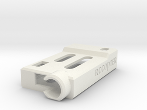 ImmersionRC UHF Case in White Natural Versatile Plastic