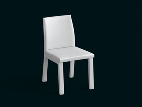 1:39 Scale Model - Chair 05 in White Strong & Flexible