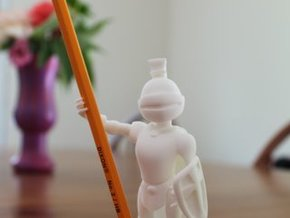 Oliver Fae Pencil Holder for your desktop! in White Strong & Flexible