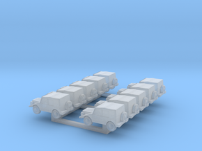 N Scale  Munga X10 in Smooth Fine Detail Plastic
