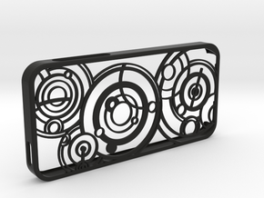 Timelord iPhone 5/5s Case in Black Strong & Flexible