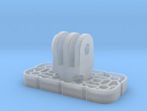 VEX IQ GoPro Adapter W Locknut in Smooth Fine Detail Plastic