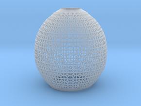 Lampshade (Ikebana-1 Pentagon) in Smooth Fine Detail Plastic