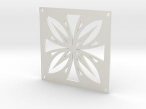 Drain Cover-2_3 54mm in White Natural Versatile Plastic