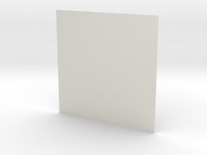 Rainforest Green_002 in White Natural Versatile Plastic