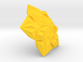 3D Tile6 in Yellow Strong & Flexible Polished