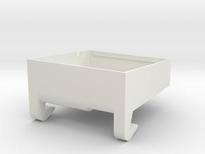 SP3 Duct in White Natural Versatile Plastic