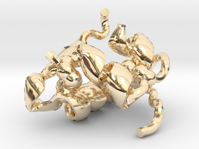 Insulin (small) in 14K Yellow Gold