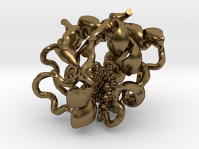 Cytochrome c (small) in Natural Bronze