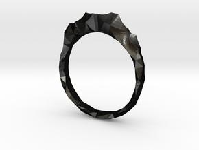 shard ring in Matte Black Steel