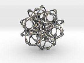 Artefact 1A 70mm in Polished Silver