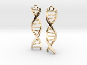 Helix Earrings in 14K Yellow Gold
