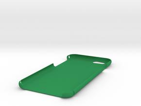 iPhone 6 Plain Case in Green Processed Versatile Plastic