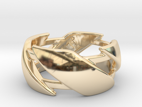 US10 Ring III in 14K Yellow Gold