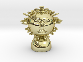 Mr Sun or mr brightside in 18k Gold