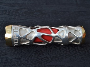 Ag Torch: Silver Tail Section (2 of 4) in Polished Silver