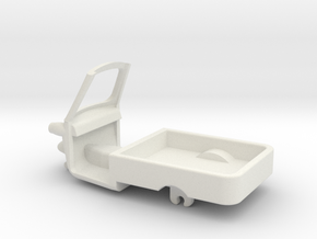 TUKTUK-W12-14mm-wsf in White Strong & Flexible