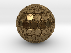 D100 Tech Dice - 2014 - Large in Natural Bronze