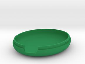 MetaWear USB Oval Lower 915 in Green Processed Versatile Plastic