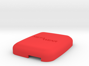 MetaWear USB Cube Upper 915 in Red Processed Versatile Plastic