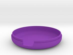 MetaWear USB Round Lower 915 in Purple Processed Versatile Plastic