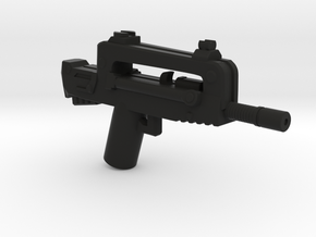 FAMAS  in Black Natural Versatile Plastic