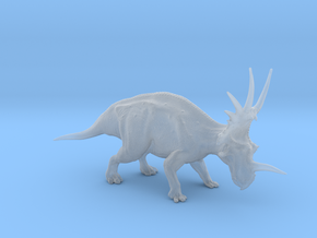Styracosaurus 1:40 scale model in Smooth Fine Detail Plastic