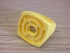 Sinestro Ring in Yellow Processed Versatile Plastic